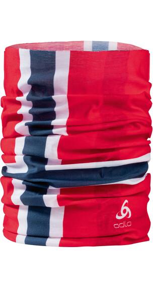 Odlo Printed sjaal rood
